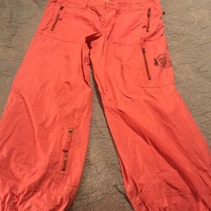 Pink light weight pants